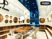 Projeto do Showroom Ocean Pacific